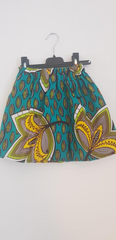 African print rokje