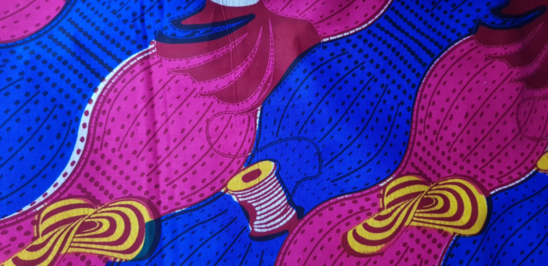 Haarband African print