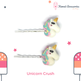 Unicorn Crush - Haarspelden