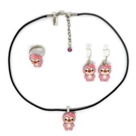 Penguin Love - Kawaii accessories set
