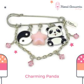 Charming Panda - broche