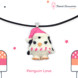 Penguin Love - ketting