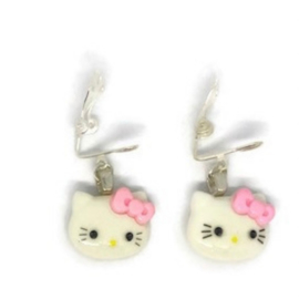 Hello Kitty Blush - Kawaii earrings