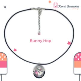 Bunny Hop Locket - Kawaii ketting