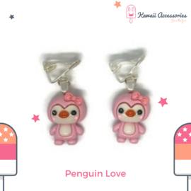 Penguin Love - Kawaii oorbellen