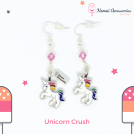 Unicorn Crush Charm - Oorbellen