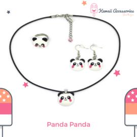 Panda Panda - Kawaii oorbellen