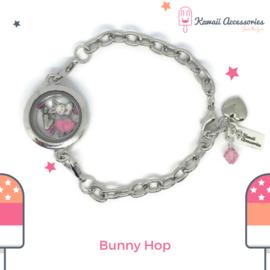 Bunny Hop Locket - armband