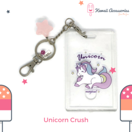 Unicorn Crush ID - Kawaii tashanger / kawaii sleutelhanger