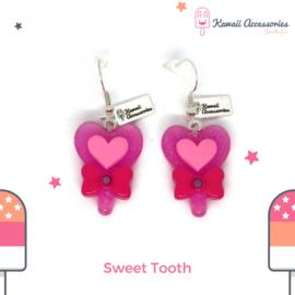 Sweet Tooth Lollipop - Kawaii  earrings