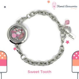 Sweet Tooth Locket - Kawaii bracelet