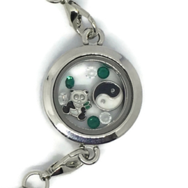 Panda Panda Locket - Kawaii armband