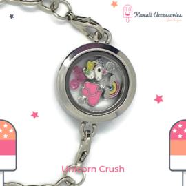 Unicorn Crush Locket - Kawaii armband