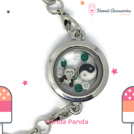 Panda Panda Locket - Kawaii bracelet