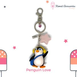 Penguin Love - Kawaii bagchain / kawaii keychain
