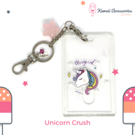 Unicorn Crush ID - Tas-/ Sleutelhanger