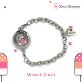 Unicorn Crush Locket - armband