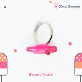 Sweet Tooth - Kawaii ring