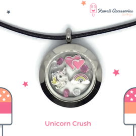 Unicorn Crush Locket - ketting