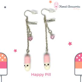 Happy Pill - Kawaii earrings