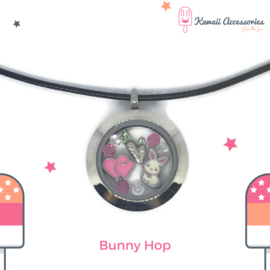 Bunny Hop Locket - ketting