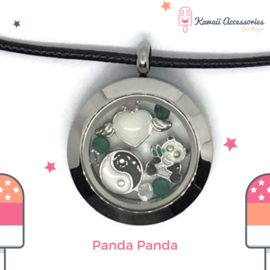 Panda Panda Locket - ketting
