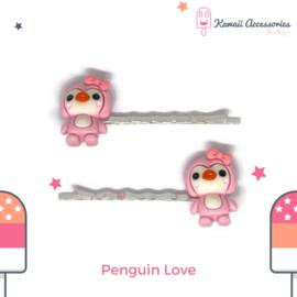 Penguin Love - Kawaii haarspelden