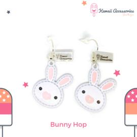 Bunny Hop - Oorbellen