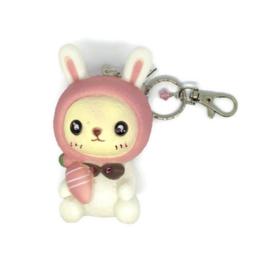 Bunny Hop Sqeak - Kawaii tashanger / sleutelhanger