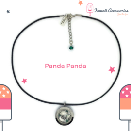 Panda Panda Locket - Kawaii ketting