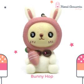 Bunny Hop Sqeak - Tas- / sleutelhanger