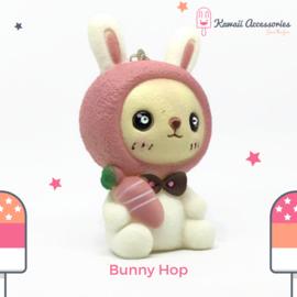 Bunny Hop Sqeak - Kawaii tashanger / kawaii sleutelhanger