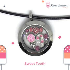 Sweet Tooth Locket - Kawaii ketting