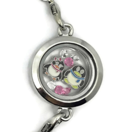 Penguin Love Locket - Kawaii armband