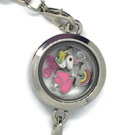 Unicorn Crush Locket - Kawaii armband