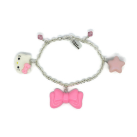 Hello Kitty Blush Charm - Kawaii armband