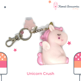 Unicorn Crush Sqeak - Kawaii tashanger / kawaii sleutelhanger