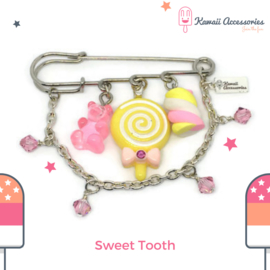 Sweet Tooth - broche