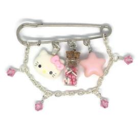 Hello Kitty Blush - Kawaii broche