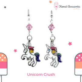 Unicorn Crush Charm - Kawaii oorbellen