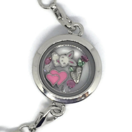 Bunny Hop Locket - Kawaii armband