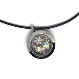 Penguin Love Locket - Kawaii ketting