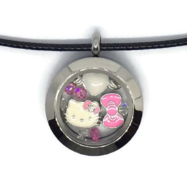 Hello Kitty Blush Locket - Kawaii ketting