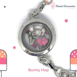 Bunny Hop Locket - Kawaii Bracelet