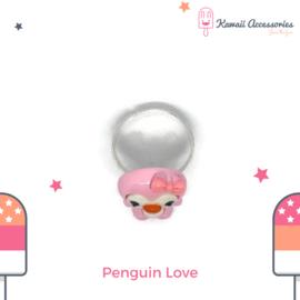 Penguin Love - Kawaii ring