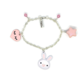 Bunny Hop Charm - Kawaii armband
