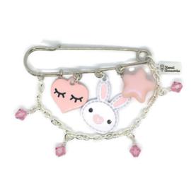 Bunny Hop - Kawaii broche