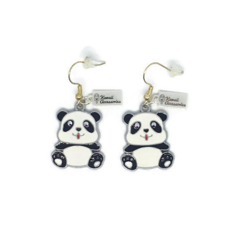 Charming Panda - Kawaii earrings