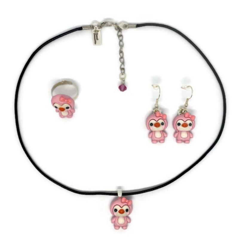 Penguin Love - Kawaii accessoire set