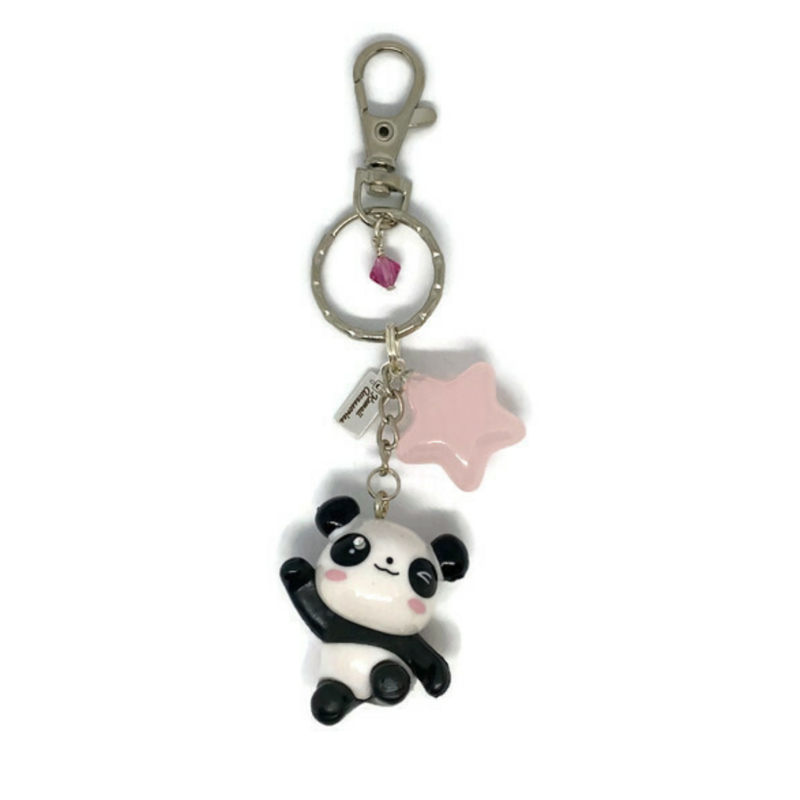Panda Panda - Kawaii tashanger / kawaii sleutelhanger